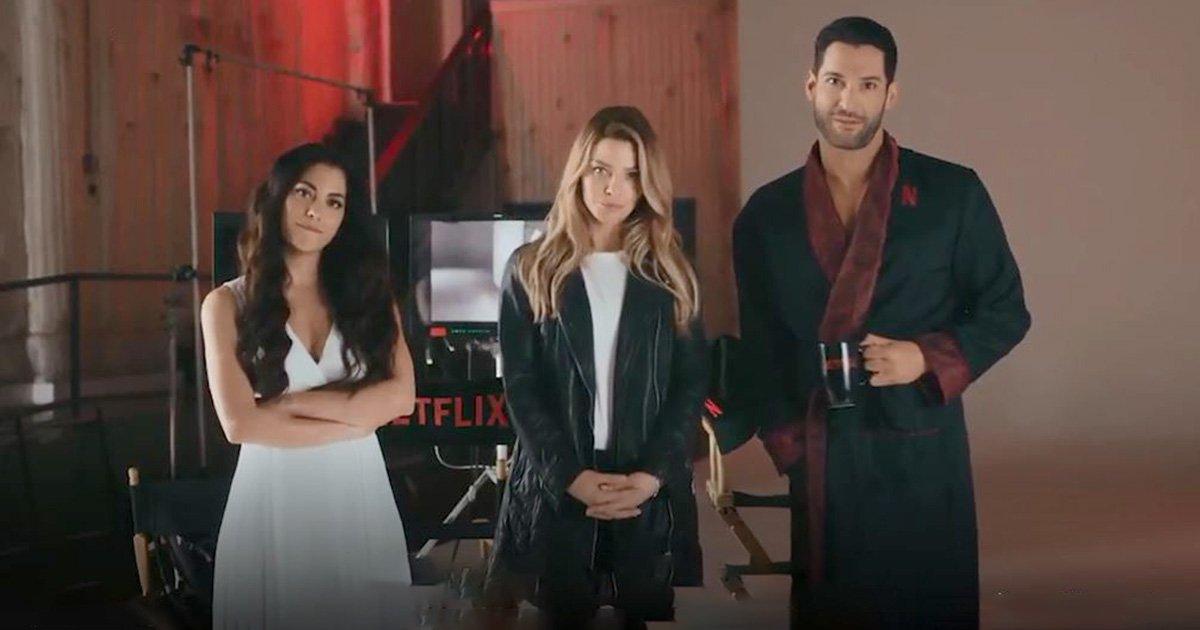 Lucifer season 4 finally got a Netflix promo and fans can?t cope Picture: Netflix