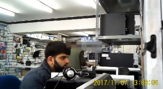 Student Zain Qaiser pretended to be a legitimate customer before launching his cyber attacks (Picture: NCA)