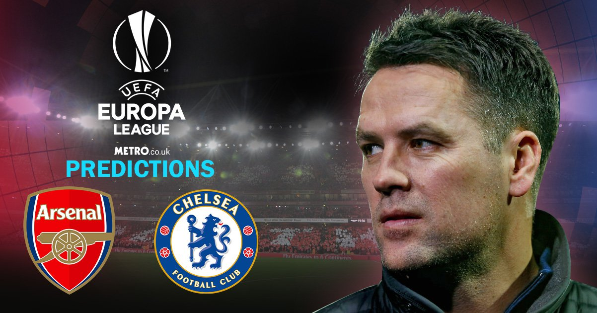 Slavia Chelsea Pinterest: Michael Owen's Europa League Predictions For Arsenal V