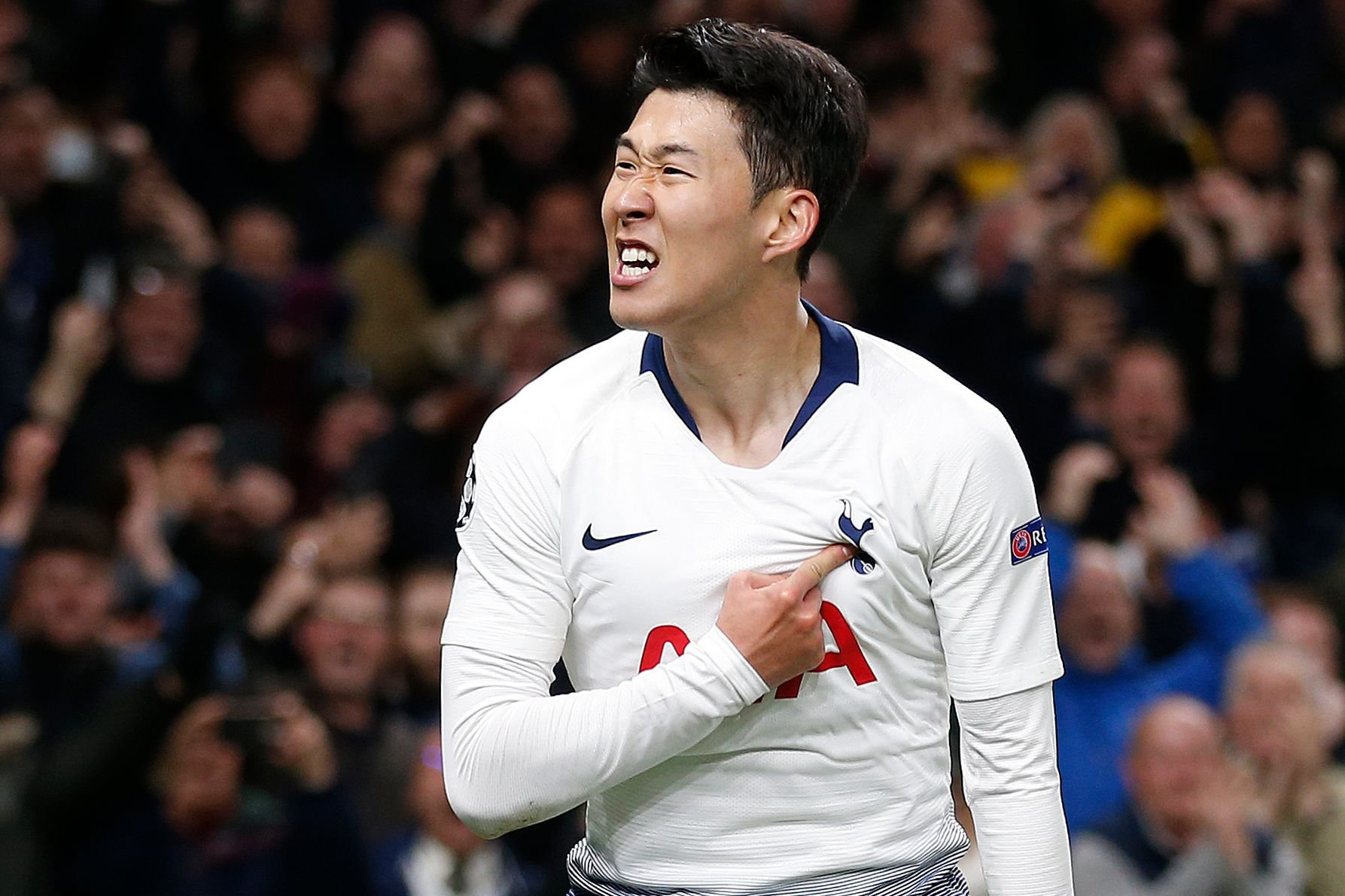 Son Heung-Min punishes Manchester City to put Spurs in touching distance of Champions League semi-finals