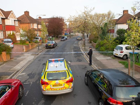 Moped rider fighting for life after being stabbed for his scooter in terrifying robbery