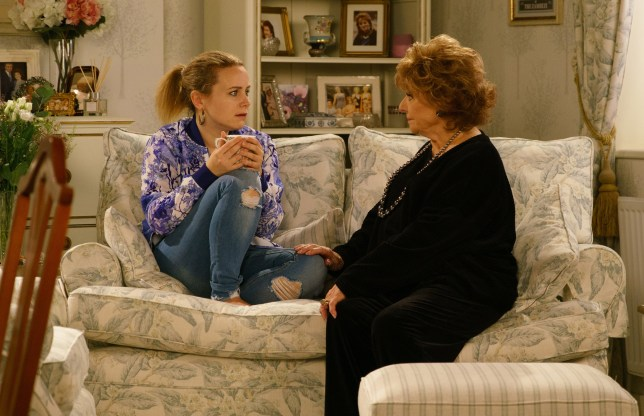 Gemma Winter (Dolly-Rose Campbell) gets some huge news in Coronation Street