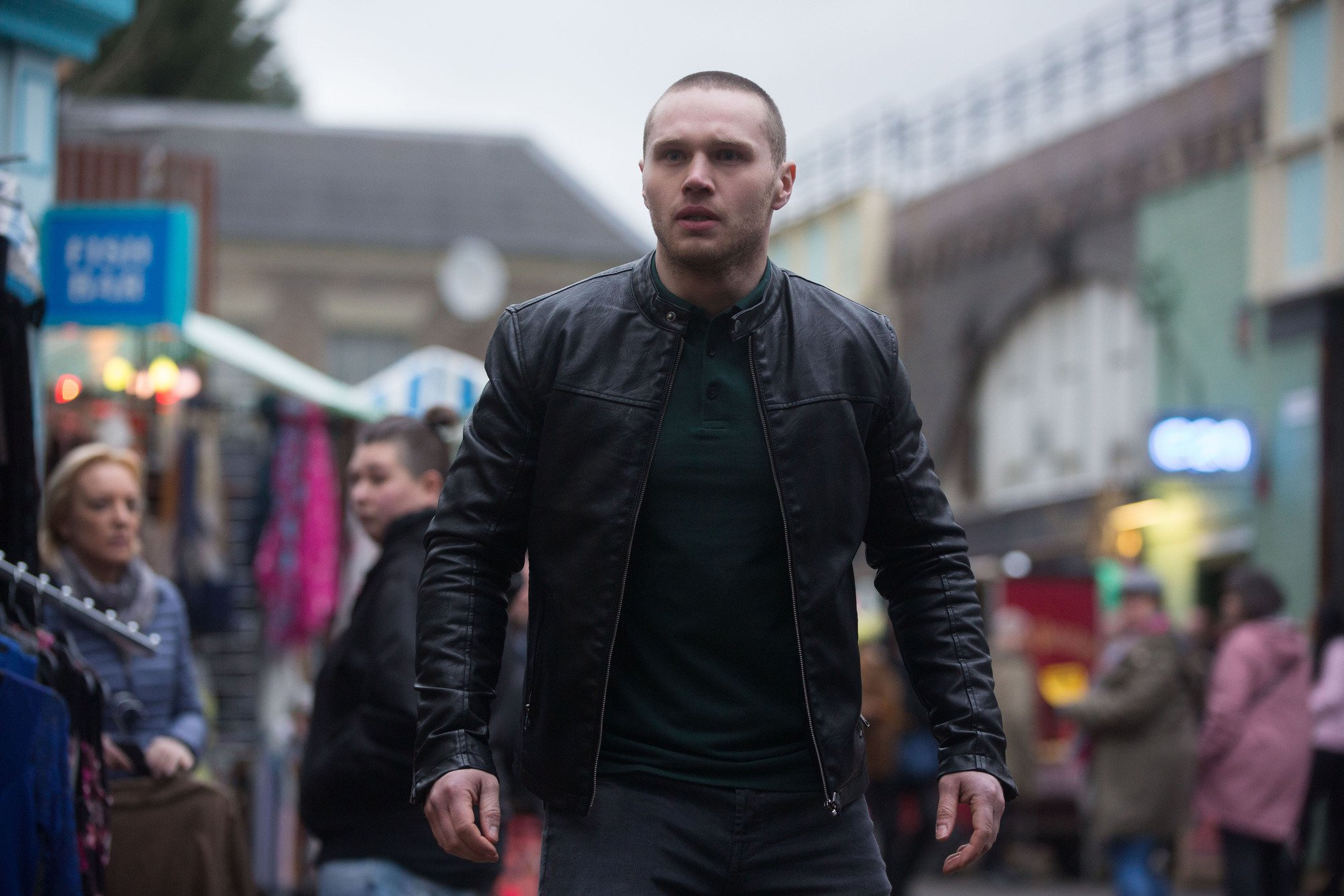 Keanu (Danny Walters) must save Louise (Keeper Tilly)
