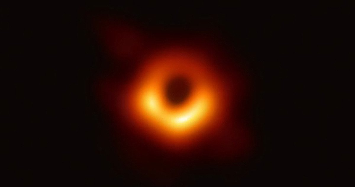 Event Horizon 'Scope??? @ehtelescopeFollow Follow @ehtelescopeMoreScientists have performed a initial design of a black hole, regulating Event Horizon Telescope observations of a core of a star M87. The design shows a splendid ring shaped as light bends in a heated sobriety around a black hole that is 6.5 billion times some-more vast than a Sun