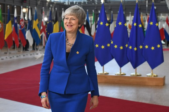 Prime Minister Theresa May arrives at the European Council in Brussels where European Union leaders are meeting to discuss Brexit. PRESS ASSOCIATION Photo. Picture date: Wednesday April 10, 2019. See PA story POLITICS Brexit. Photo credit should read: Stefan Rousseau/PA Wire