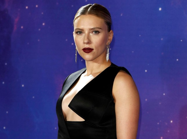 """LONDON, ENGLAND - APRIL 10: Scarlett Johansson attends the """"Avengers Endgame"""" UK Fan Event at the Picturehouse Central on April 10, 2019 in London, England. (Photo by John Phillips/Getty Images)"""