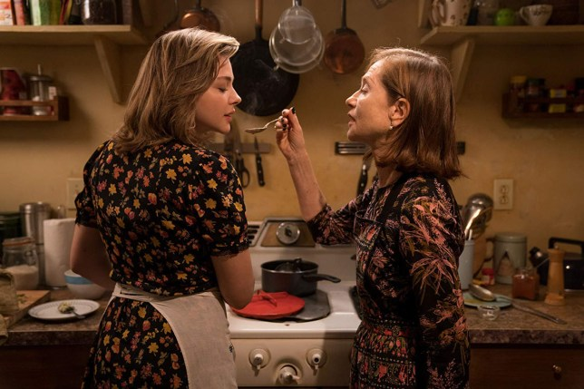 Greta, starring Isabelle Huppert and Chloe Grace Moretz (Picture: Focus Features)