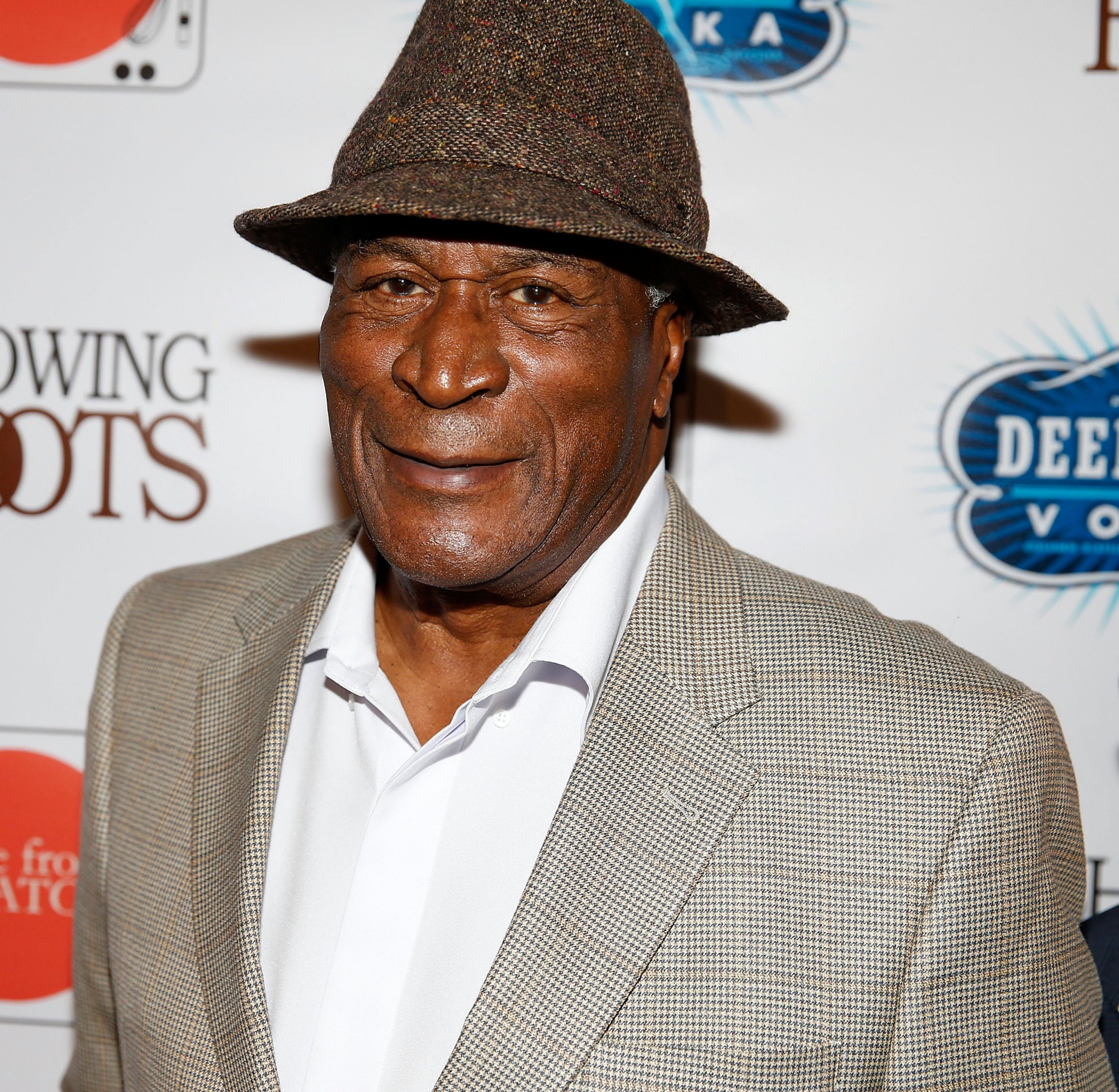 "NEW YORK, NY - MAY 17: John Amos at ""Showing Roots"" New York Screening SVA Theatre on May 17, 2016 in New York City. (Photo by Shareif Ziyadat/WireImage)"