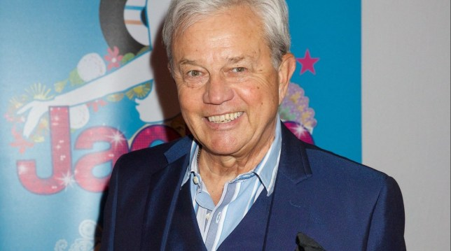 Mandatory Credit: Photo by Piers Allardyce/REX/Shutterstock (5618555s) Frazer Hines 'Jackie' musical press night, Churchill Theatre, London, Britain - 23 Mar 2016