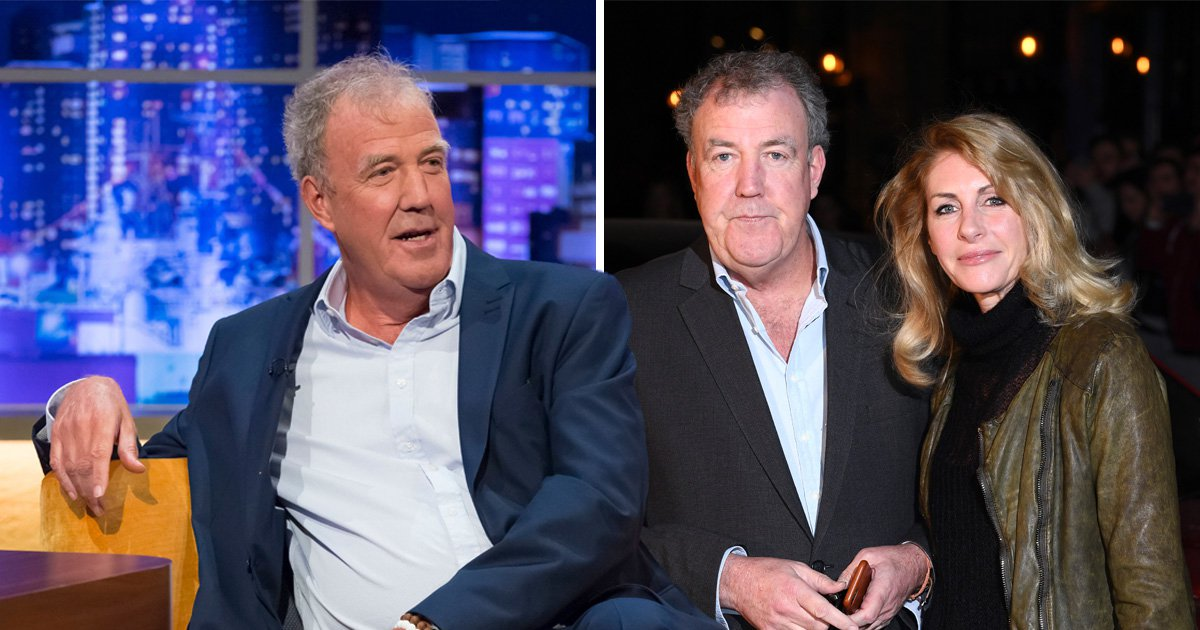 The Grand Tour's Jeremy Clarkson has rare sappy moment and declares love for girlfriend Lisa Hogan