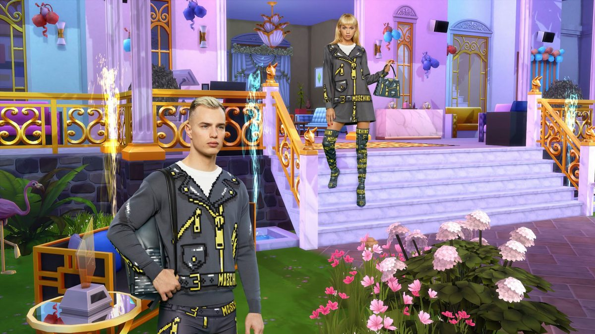 Moschino Is Releasing A Sims-Inspired Fashion Line