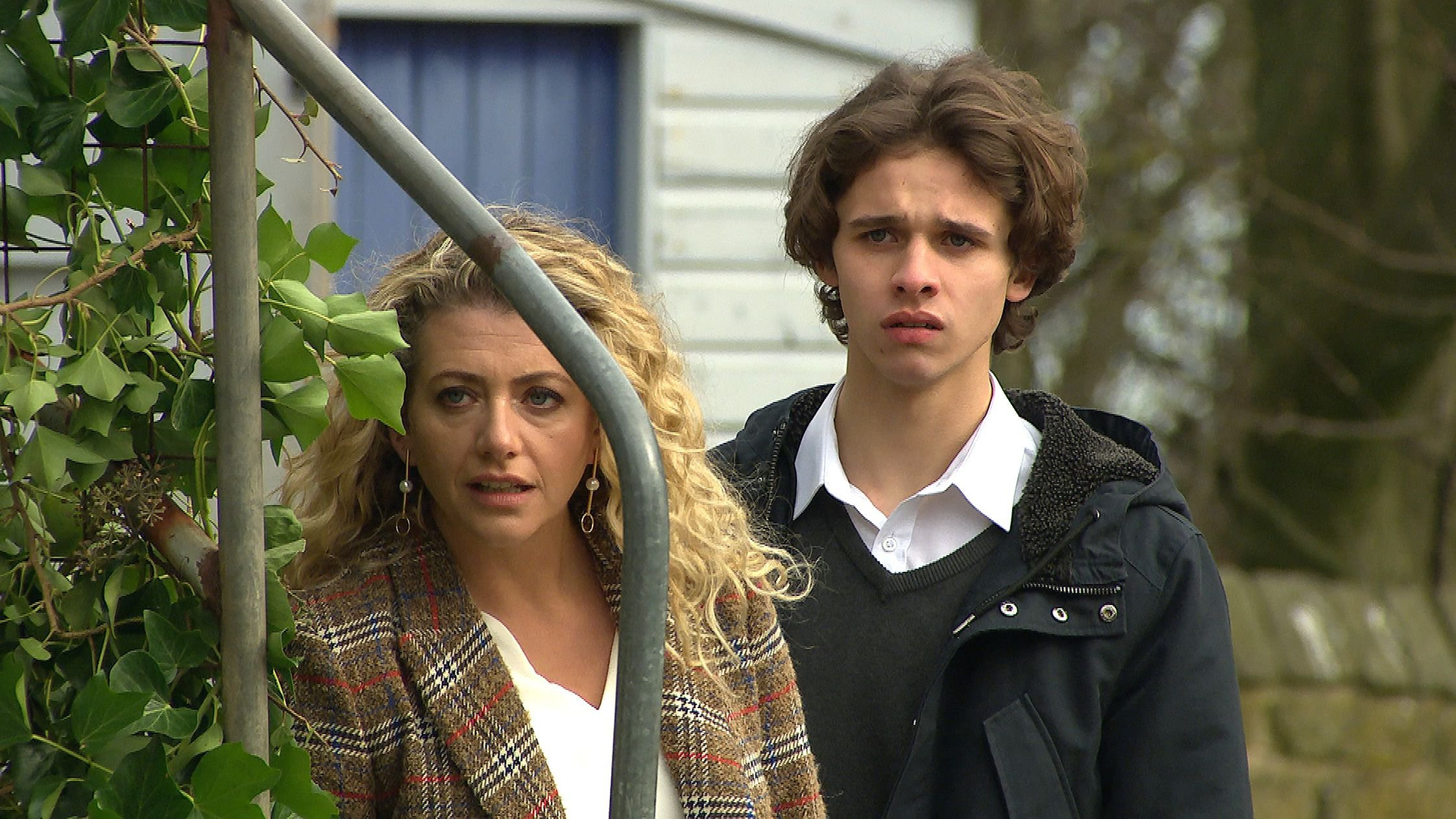 When is Maya Stepney caught for abusing Jacob Gallagher in Emmerdale?