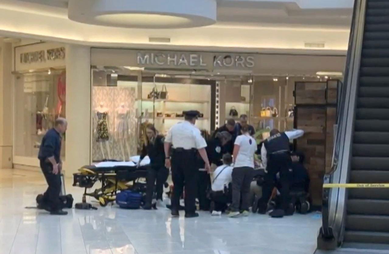 Story public sex mall stranger