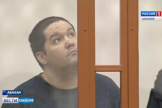 Dmitry Lebed listens to the sentence
