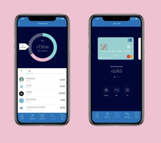 The mock-up design was shared by Monzo's CEO (Picture: @t_blom)