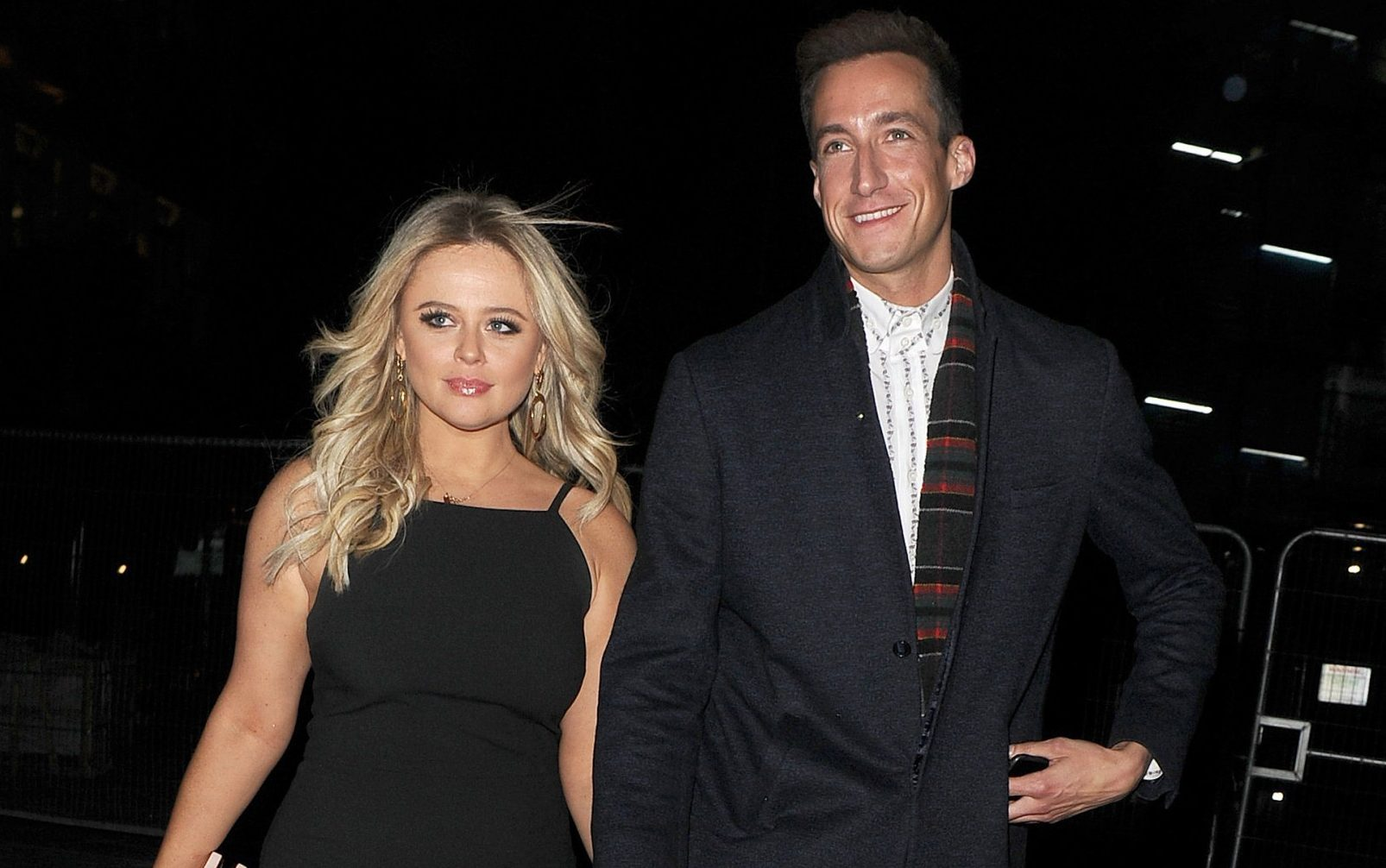 Emily Atack is seen for the first time, with her new boyfriend Rob Jowers. The pair walked hand in hand, as they left Vivi restaurant in the West End, having attended a friends birthday party. 13 Apr 2019 Pictured: Emily Atack, Rob Jowers. Photo credit: Will / MEGA TheMegaAgency.com +1 888 505 6342