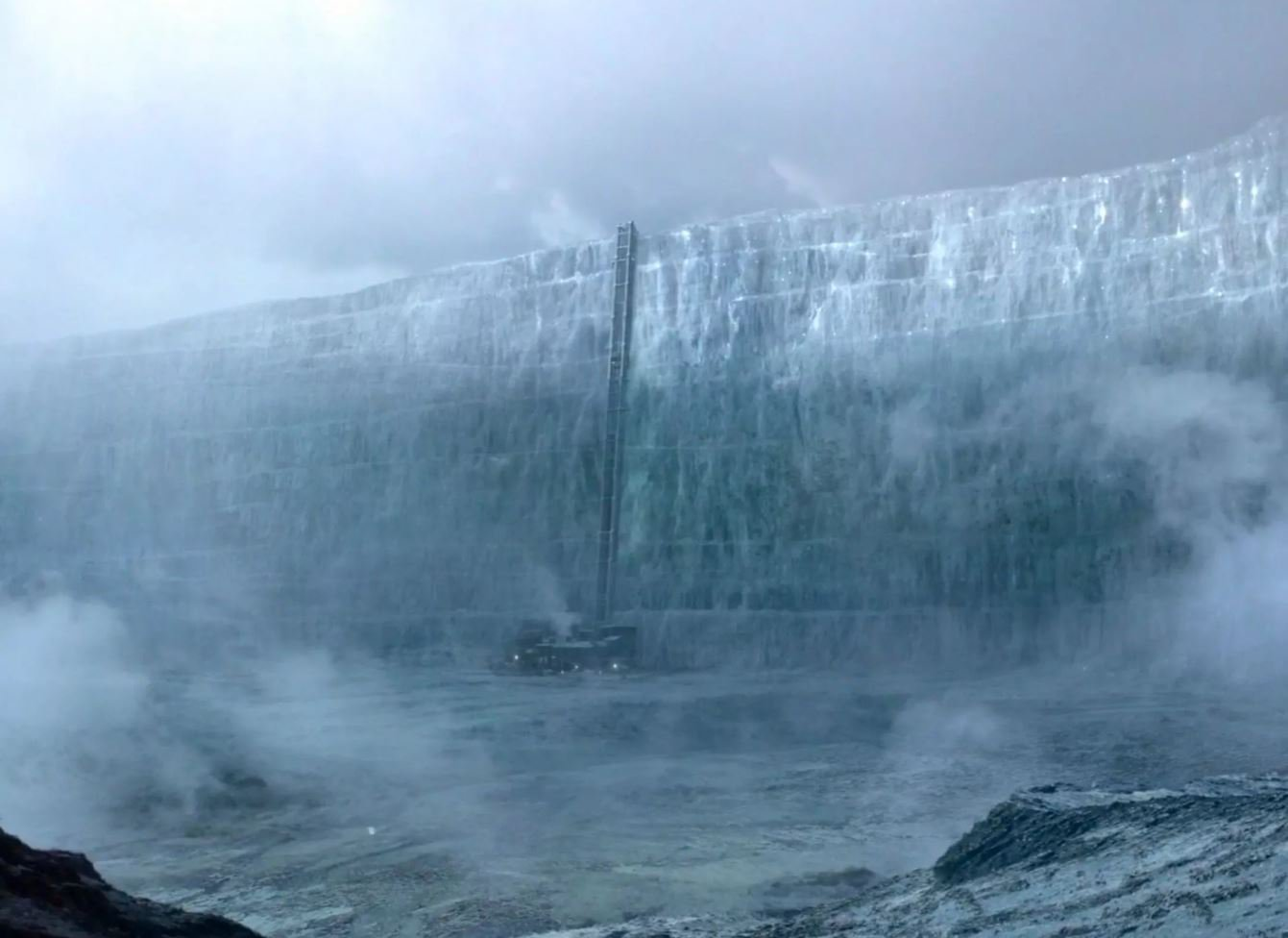 Who built The Wall in Game of Thrones and how long has it been there?