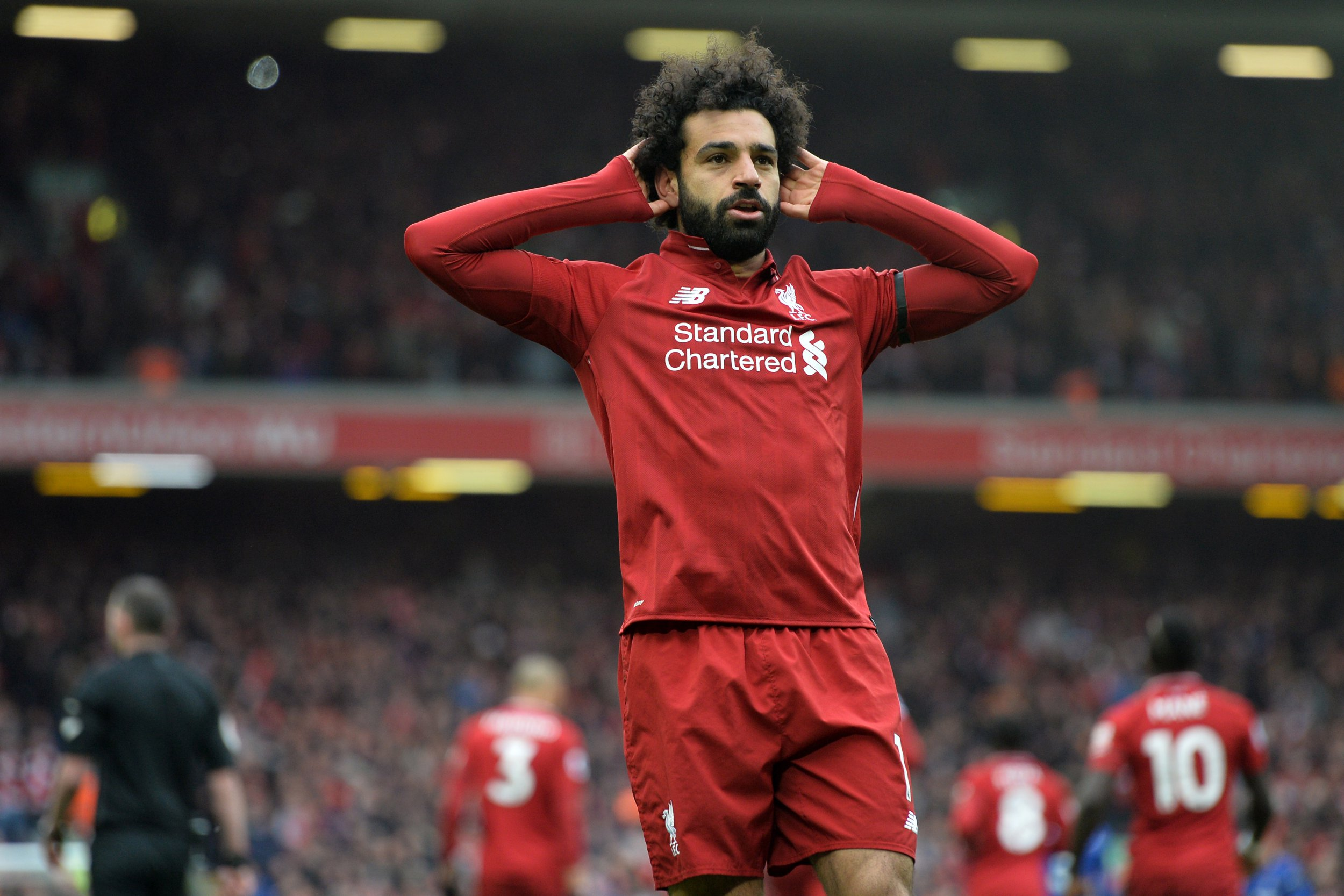 Mohamed Salah predicts Premier League title race after Liverpool's win over Chelsea