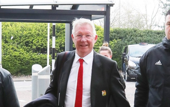 15.4.19???.The Manchester United team fly to Barcelona on Monday morning for their Champions League 2nd leg on Tuesday night??????. Sir Alex Ferguson..