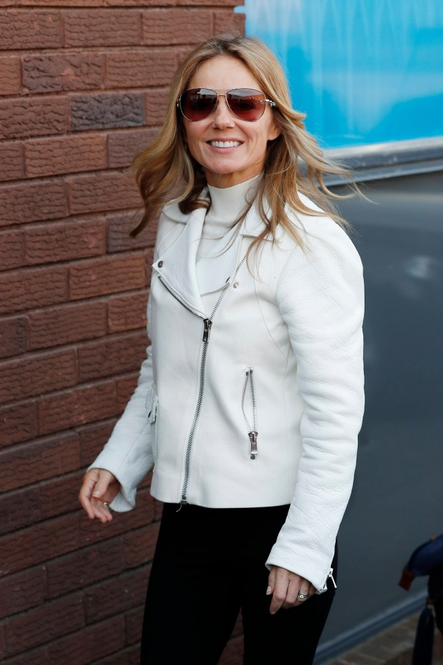LONDON, ENGLAND - APRIL 15: Geri Horner arriving at a dance studio for Spice Girls tour rehearsals on April 15, 2019 in London, England. (Photo by Neil Mockford/GC Images)