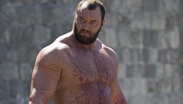 Game Of Thrones' The Mountain admits to using steroids A Still from Game of Thrones - Haf??r J?l?us Bj?rnsson: Gregor Clegane