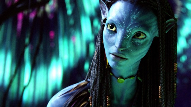 Zoe Saldana in a still from 2009 movie Avatar