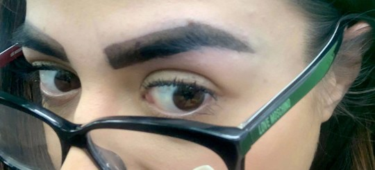 Woman humiliated by 'marker pen' eyebrows after salon wax
