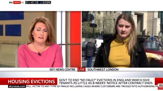 METROGRAB: Sky News anchor and landord slammed for 'patronising' response to young renter