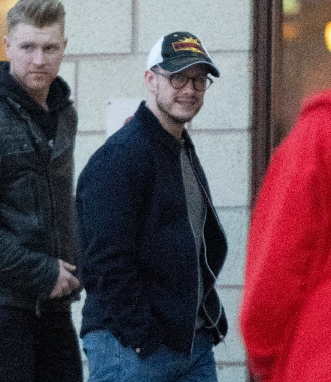 16 April 2019. Kevin Clifton seen dancing outside his hotel. He was also seen joking around with a pretty brunette Pictured: Kevin Clifton Credit: GoffPhotos.com Ref: KGC-286/503