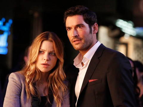 Lucifer's Tom Ellis and Lauren German lead cast celebrating season 5 announcement