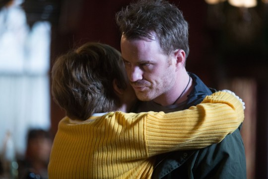 Jean Slater (Gillian Wright) is overjoyed to have her son Sean Slater (Rob Kazinsky) back