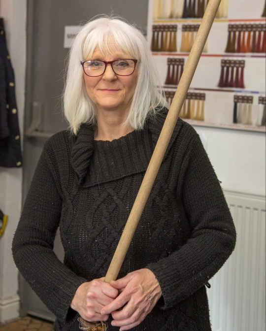 Brave gran uses mop handle to hold intruder 'hostage' | Metro News