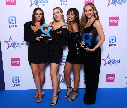 Little Mix at The Global Awards