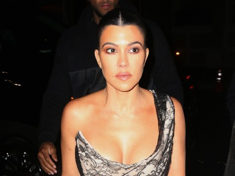 Kourtney Kardashian breaks down in tears over turning 40 and admits it's giving her 'anxiety'