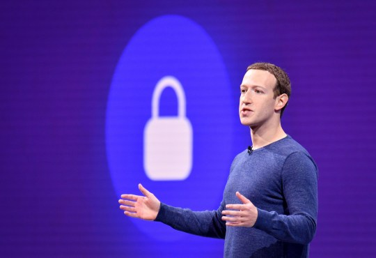 Facebook CEO Mark Zuckerberg speaks during the annual F8 summit at the San Jose McEnery Convention Center in San Jose, California on May 1, 2018. - Facebook chief Mark Zuckerberg announced the world's largest social network will soon include a new dating feature -- while vowing to make privacy protection its top priority in the wake of the Cambridge Analytica scandal. (Photo by JOSH EDELSON / AFP) (Photo credit should read JOSH EDELSON/AFP/Getty Images)