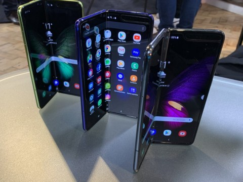 Samsung's £1,800 folding phone is ready to launch again in September