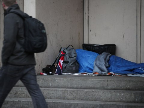 Huge rise in number of £100 fines being given to homeless people