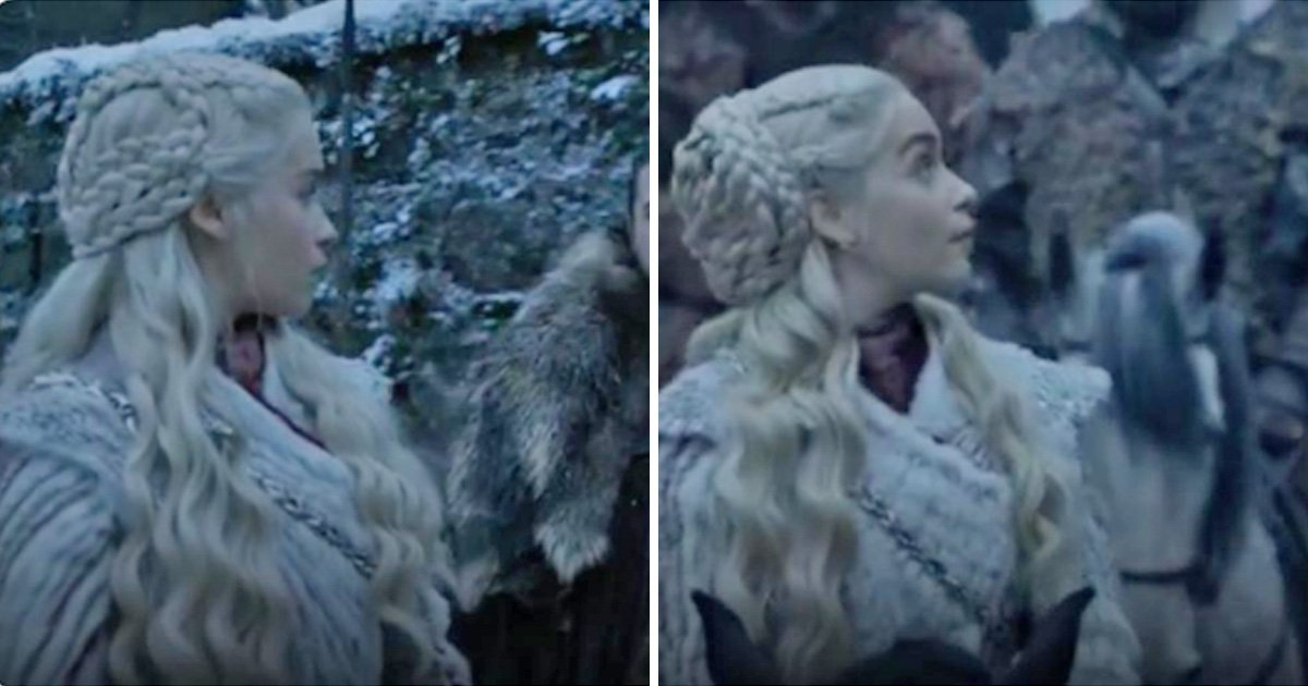 Game of Thrones season 8 airs pretty big continuity error with Daenerys' wig