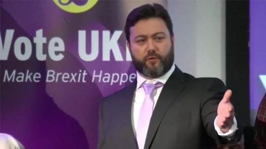 1100 UKIP press conference Carl Benjamin defends rape comment