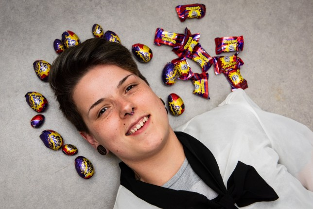 Jennifer is obsessed with Creme Eggs