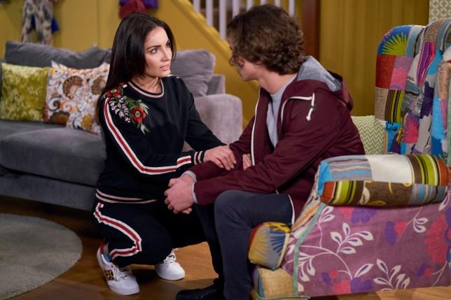 Leyla (Roxy Shahidi) confesses to murdering Maya Stepney