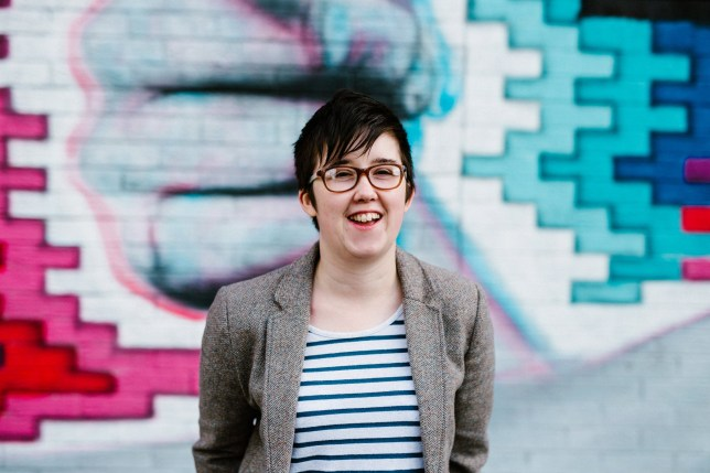 epa07515414 Belfast Journalist Lyra McKee poses outside the Sunflower Bar on Union Street in Belfast, Northern Ireland, Britain, 19 May 2017 (issued 19 April 2019). According to media reports, Lyra McKee was killed during riots in Londonderry (Derry) on 18 April 2019. Police Service of Northern Ireland said that McKee was allegedly shot while reporting on clashes with dissident republican rioters. EPA/JESS LOWE MANDATORY CREDIT: JESS LOWE EDITORIAL USE ONLY/NO SALES