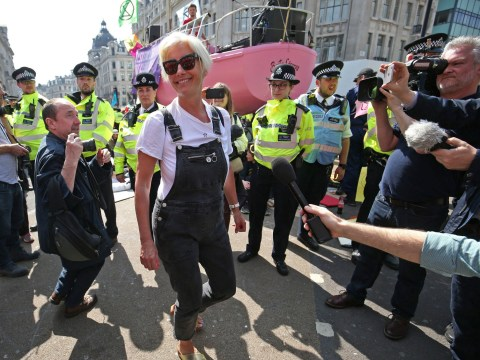 Emma Thompson admits it was 'hypocritical' to fly 5,400 miles to climate change protest