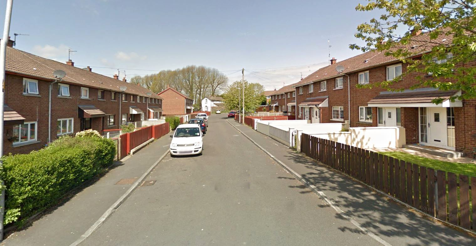 Teenage girl stabbed in Northern Ireland The incident happened around 9pm on Friday in the Deans Walk area of the County Armagh town, police said. Provider: Google Map Source: https://www.google.com/maps/@54.464989,-6.340616,3a,75y,324.17h,91.91t/data=!3m6!1e1!3m4!1sRlSnSLRuwdBBGPUi55hCXA!2e0!7i13312!8i6656
