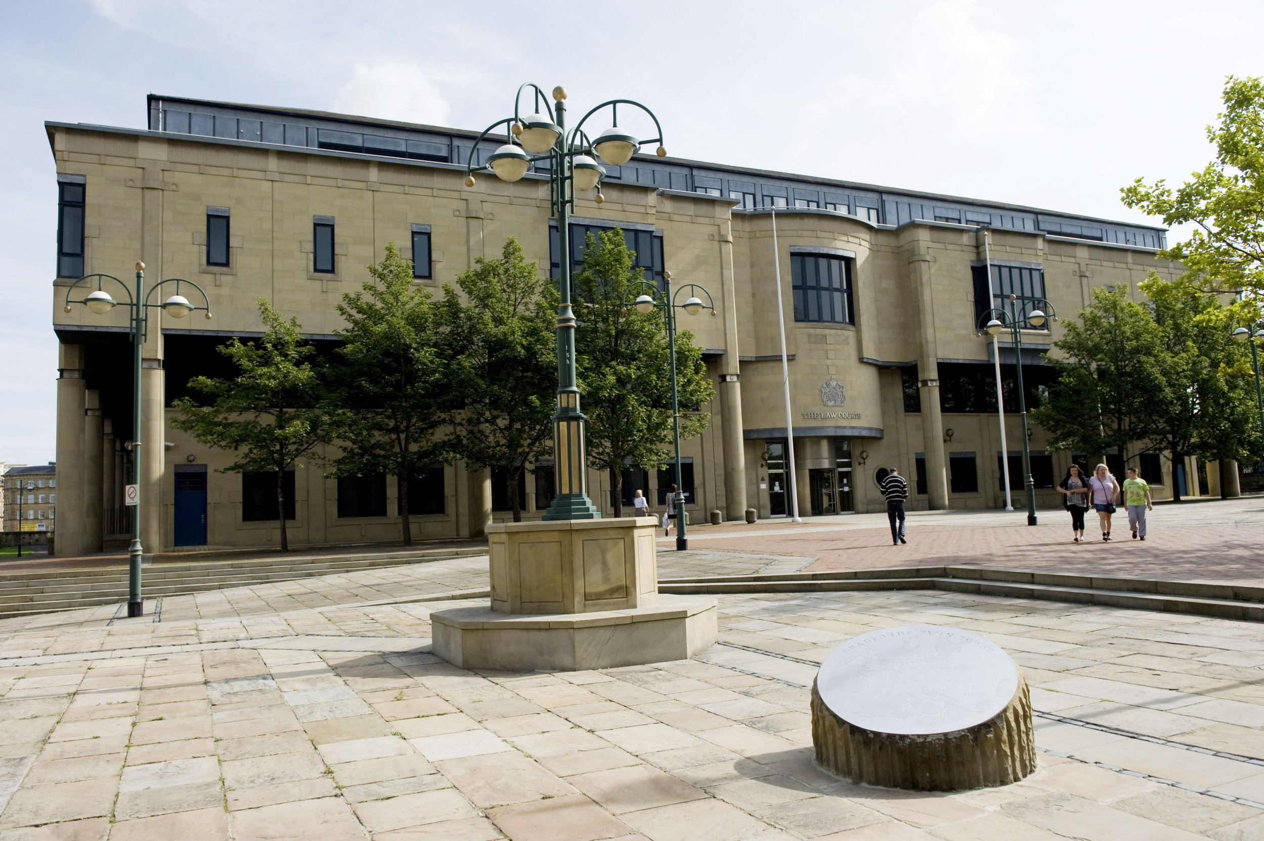 Mandatory Credit: Photo by Ray Tang/REX/Shutterstock (1222758ej) Bradford Crown Court in Exchange Square, Drake Street. Bradford, Yorkshire, Britain. Bradford, Yorkshire, Britain - 26 Aug 2010