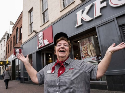 Woman becomes local legend after working at KFC for 41 years