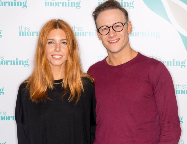 Editorial use only Mandatory Credit: Photo by Ken McKay/ITV/REX/Shutterstock (9974343bp) Stacey Dooley and Kevin Clifton 'This Morning' TV show, London, UK - 12 Nov 2018