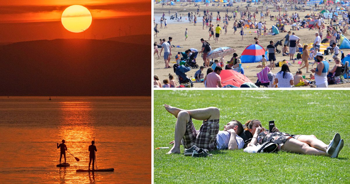Hottest Easter Sunday on record for everywhere in UK but England