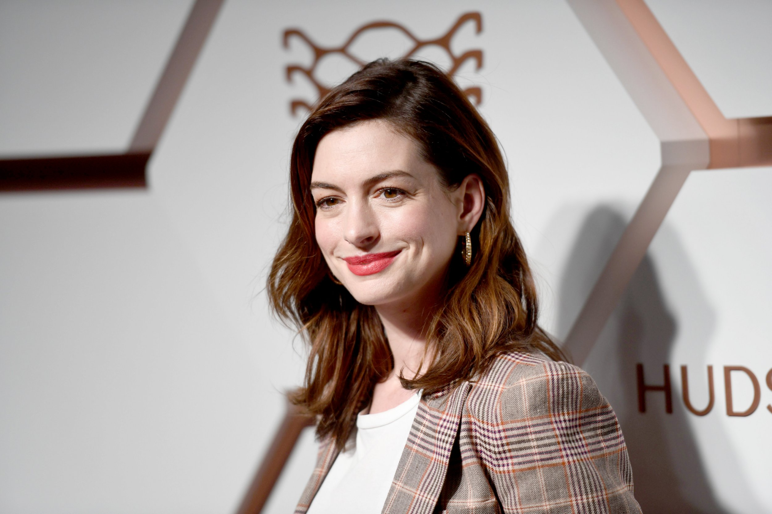 Anne Hathaway in New York in March 2019
