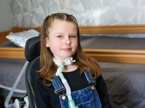 Girl with rare condition that makes it impossible to breathe unaided signed to modelling agency